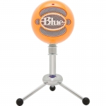 BLUE SNOWBALL BRIGHT ORANGE